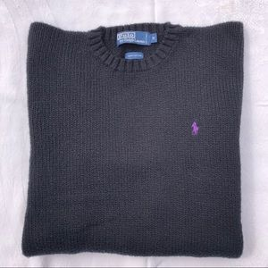 POLO by Ralph Lauren men's black sweater size M